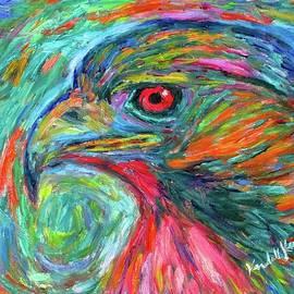 Emerging Hawk by Kendall Kessler