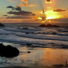 Inge Riis McDonald - Enjoying the Sunset