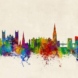 Exeter England Skyline - Michael Tompsett