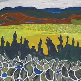 Francois Fournier - Fall Colours On Mount Megantic Qc