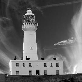 Flambourgh light house by Clive Beake