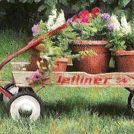 Leslie Montgomery - Flower Wagon