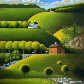 Foothills Of The Berkshires by John Deecken