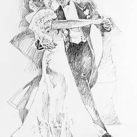 Fred And Ginger Top Hat by David Lloyd Glover