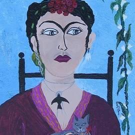 Frida Khalo by Maria tereza Braz