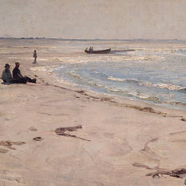 Eilif Peterssen - From the Beach at Sele