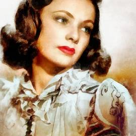 Gene Tierney Hollywood Actress - Frank Falcon