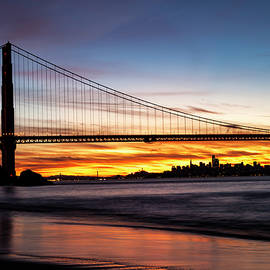 Rick Pisio - Golden Gate at Dawn