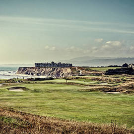 l o c - golf course on half moon bay - california