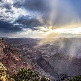 Grand Canyon Sunset  by John McGraw
