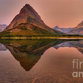 Grinnell Point Glacier Sunrise by Adam Jewell