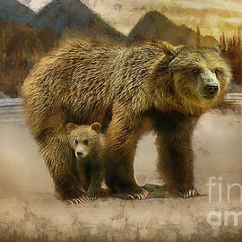 Wildlife Fine Art - Grizzly Bear Art