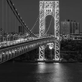 GW Bridge At Twilight by Susan Candelario