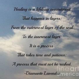 Healing by Diamante Lavendar