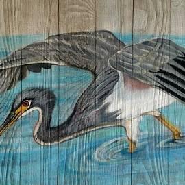 Elaine Haakenson - Heron on the Hunt
