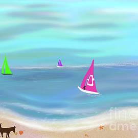 Beverley Brown - In the Pink - sailing in tropical waters