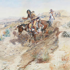 Charles Marion Russell - Indian Braves