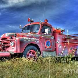 International Fire Truck 2 by Tony Baca