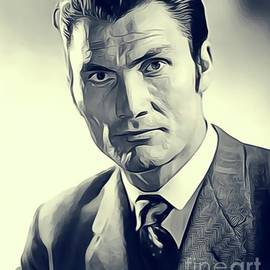 Jack Palance, Vintage Actor - John Springfield