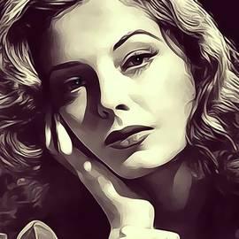 Jane Greer, Vintage Actress - John Springfield