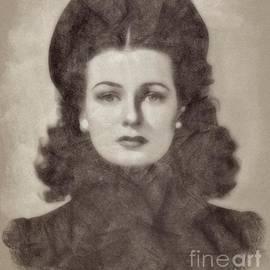Joan Bennett Vintage Hollywood Actress - John Springfield