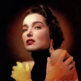 John Springfield - Julie Adams, Vintage Actress
