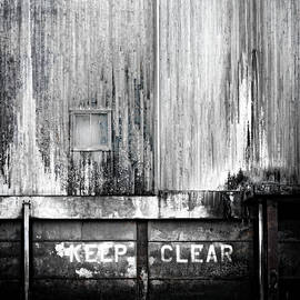 Keep Clear Industrial Art - Carol Leigh