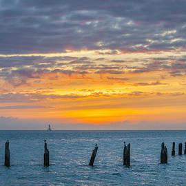 Key West sunset by Elena Elisseeva