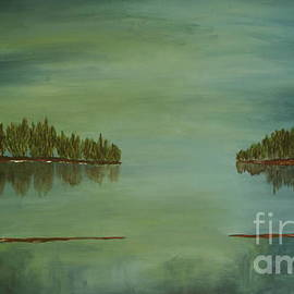 Lake Reflection by Christiane Schulze Art And Photography