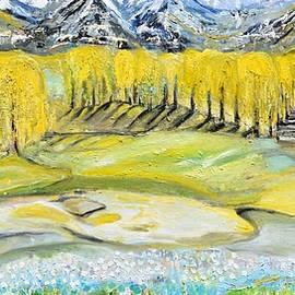 Landscape by Evelina Popilian