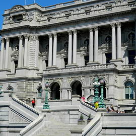Library of Congress - Washington, DC by Arlane Crump