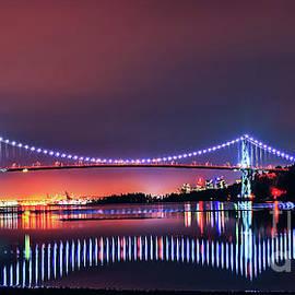 Lions Gate Bridge by Viktor Birkus