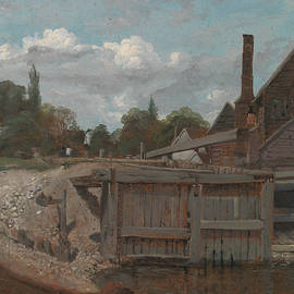 William Mulready - Lock Gate