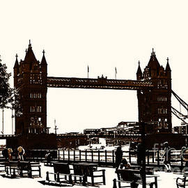 London Tower Bridge, London. by Nigel Dudson