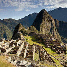 Machu Picchu Inca Ruins by Aivar Mikko