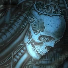 Mechanical skull by Tim Murphy