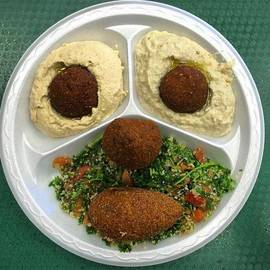 Middle Eastern Food Face