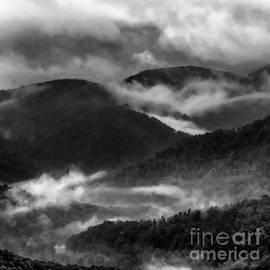 Misty Mountains West Virginia by Thomas R Fletcher