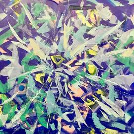Anthony Masterjoseph - Modern Abstract  Painting