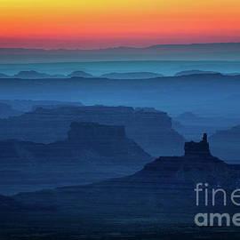 Moki Dugway Sunrise by Inge Johnsson