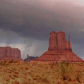 Merton Allen - Monument Valley - Rain Coming