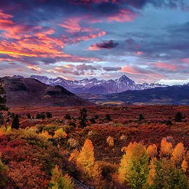 Morning Drama in the Colorado Rockies by Andrew Soundarajan