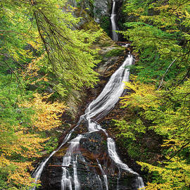 Moss Glen Falls by Sharon Seaward