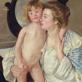 Mother and Boy - Mary Stevenson Cassatt