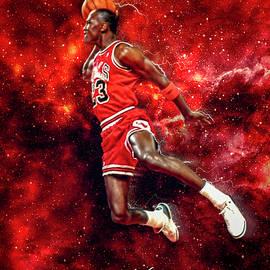 Mr. Michael Jeffrey Jordan aka Air Jordan MJ by Nicholas Grunas