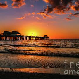 Claudia M Photography - Naples Pier sunset