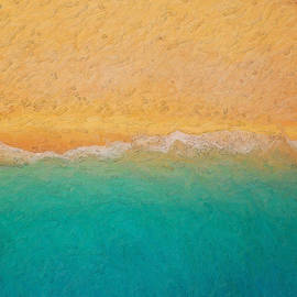 Not quite Rothko - Surf and Sand