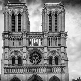 Notre Dame Architecture by Georgia Fowler