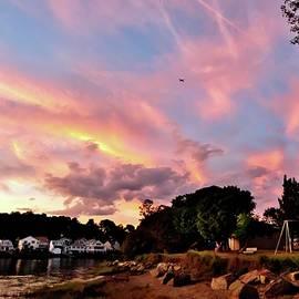 Scott Hufford - Obear Park at Sunset, Beverly MA
