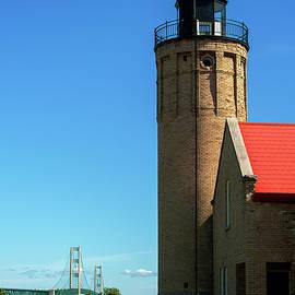 Old Mackinac Point Lighthouse by Jeff Kurtz